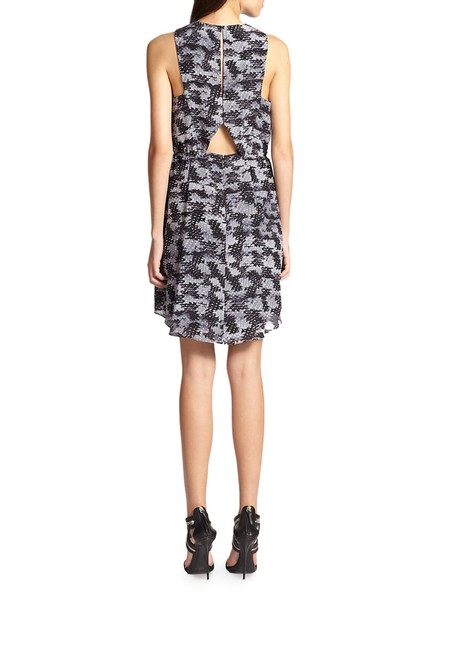 Rebecca Taylor short dress Printed Black And White on Tradesy