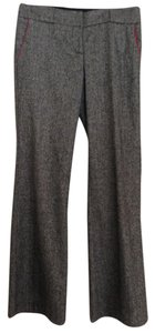 bebe Work Career 4 Silk Blend Wool Blend Wide Leg Pants