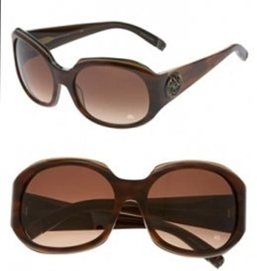Rock & Republic 'Predator' Oversized Sunglasses - Amber