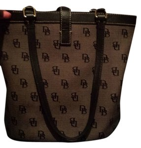 Dooney & Bourke Satchel in Black and Grey