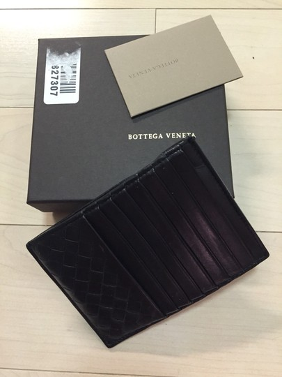 Bottega Veneta Intrecciato Card Holder Wallet