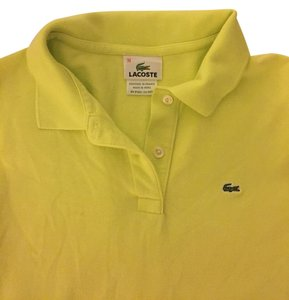 Lacoste Button Down Shirt Lime