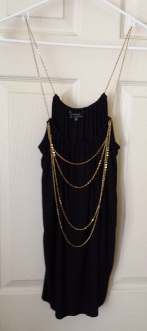 T-BAGS CHAIN SHOULDER TANK TOP Top T-BAGS MULTI CHAIN MULTI COLOR