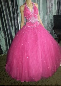 Sweet Sixteen Beauty Queen, Or A Prom Princess. Dress Wedding Dress
