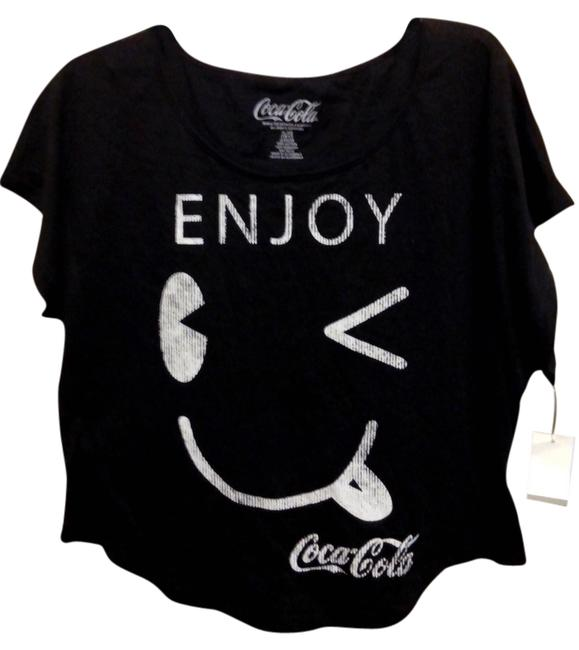"""Item - Black XL With Tags Collector's Item """"Limited Edition"""" Smiley Face Retail Tee Shirt Size 16 (XL, Plus 0x)"""
