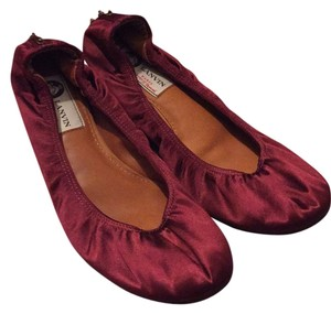 Lanvin Burgundy (red wine) Studs-bronze Flats