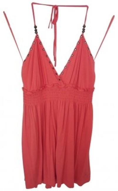Preload https://item4.tradesy.com/images/guess-coral-v-neck-halter-top-size-6-s-40953-0-0.jpg?width=400&height=650