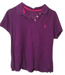 U.S. Polo Assn. Button Down Shirt Purple