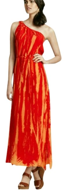 Red Maxi Dress by C&C California Maxi Side Slit