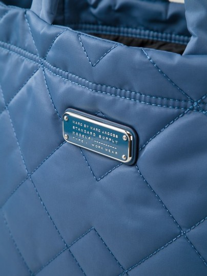 Marc by Marc Jacobs Light Weight Quilted Diamond Nylon Tote in Blue