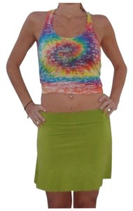 YAM Swimwear Skirt Green
