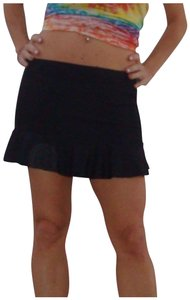 YAM Swimwear Mini Skirt Black