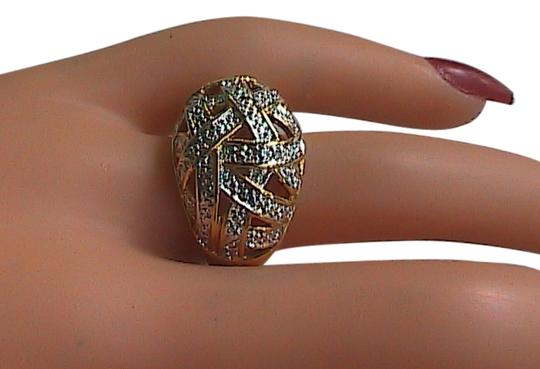 Preload https://item2.tradesy.com/images/gold-washed-sterling-silver-dome-ring-4096021-0-0.jpg?width=440&height=440