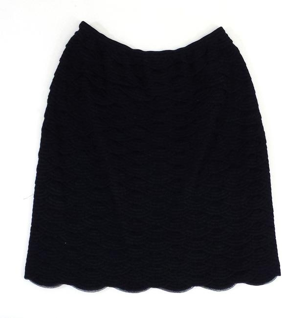Chanel Scalloped Blend Skirt