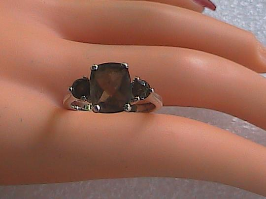 Other Sterling Silver Smokey Topaz Ring