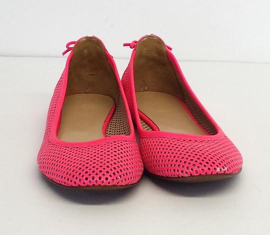 J.Crew Perforated Leather Ballet Flats