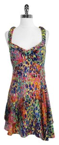 Nanette Lepore short dress Abstract Print Silk Sleeveless on Tradesy