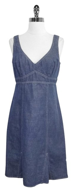 Nanette Lepore short dress Chambray Cotton Blend Sleeveless on Tradesy
