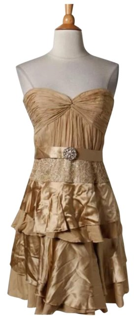Preload https://item3.tradesy.com/images/laundry-by-shelli-segal-gold-tiered-strapless-corset-crinkle-cocktail-dress-size-4-s-4097047-0-2.jpg?width=400&height=650