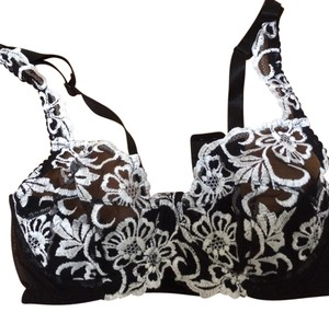 Nefer Lingerie Nefer Lingerie Black & White Lace Bra