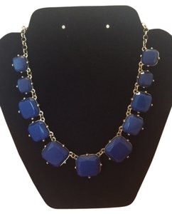 Sapphire Blue stone statement necklace