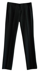 Drykorn Front Pleat Wool Blend Office Trouser Pants black