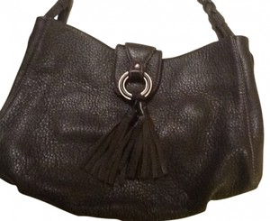Ann Taylor Leather Tassel Shoulder Bag