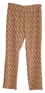 Tara Jarmon Pj Print Brand New With Tags Trouser Pants brown