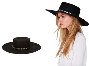 Nasty Gal NWT Nasty Gal Janelle Boater Hat