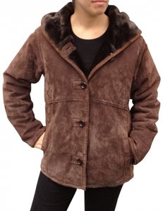 Gallery Jacket Suede Leather Coat