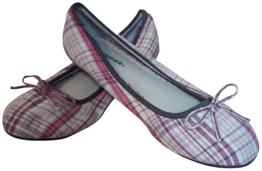 Classified Plaid Flats