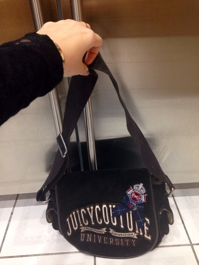 Juicy Couture Chocolate Messenger Bag