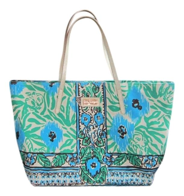 Item - Sea Multicolor Cotten; Polyester Lining Tote