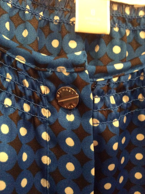 Michael Kors Top Blue Print