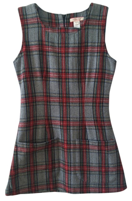 Lux short dress Plaid on Tradesy
