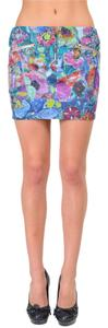 Just Cavalli Mini Skirt Multi-Color