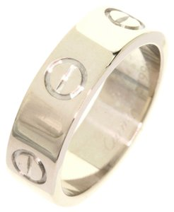 Cartier CARTIER 18K White Gold love Ring US SIZE 5.375