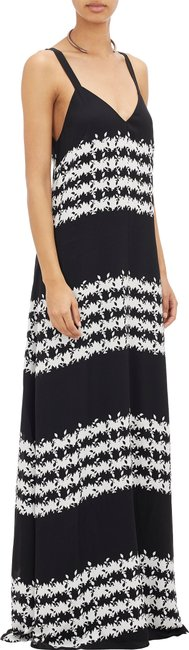 Black white Maxi Dress by Thakoon Addition
