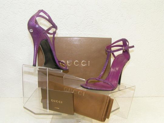 Gucci Purple Sandals