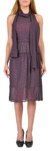 Just Cavalli short dress Purple on Tradesy