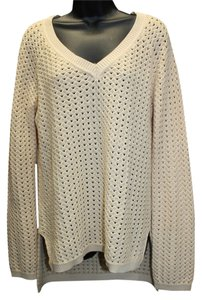 BCBGMAXAZRIA Bcbg Maxazria Cotton Silk Sweater
