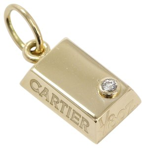 Cartier Cartier 18k Yellow Gold With Diamond Charm Pendent