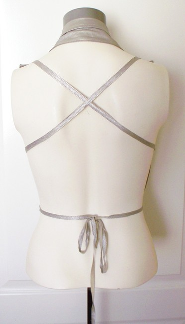 Ann Demeulemeester Backless Leather Strappy Vest