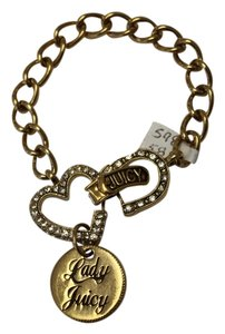 Juicy Couture Juicy Couture Heart Diamonds 'Lady Juicy' Pendant Bracelet