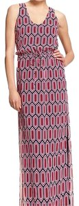 Black / Red / Pink / White Maxi Dress by Banana Republic