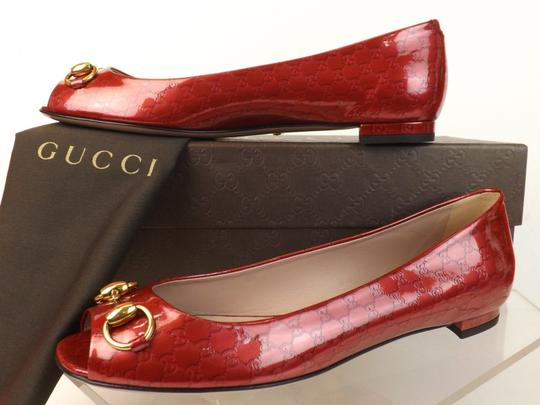 Gucci Raspberry Candy Flats