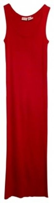 Preload https://item4.tradesy.com/images/newport-news-red-ribbed-knit-floor-length-sleeveless-long-night-out-dress-size-8-m-41018-0-0.jpg?width=400&height=650