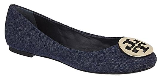 Tory Burch denim navy Flats