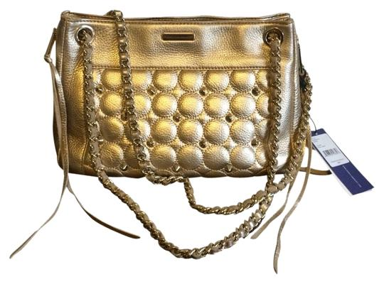 Preload https://item4.tradesy.com/images/rebecca-minkoff-studded-gold-leather-shoulder-bag-4102678-0-1.jpg?width=440&height=440