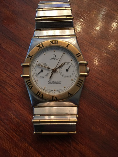 Omega Omega Constellation Chronometer 18k Gold Watch
